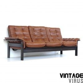 Leren Bank Vintage.Vintage Leren Bank In 2020 Vintage Sofa Bankstellen En Bank