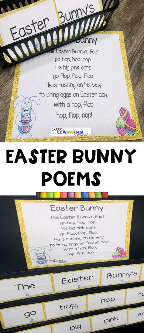3 Fun Easter Poems for Kids