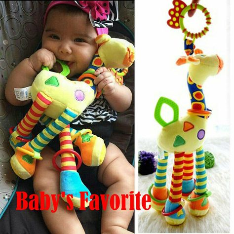 Newborn Infants Pram Handbell Bed Stroller Softs Hanging Toy Animal Rattles