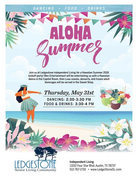 Have You Always Wanted To Experience The Art Of Hawaiian Dance Now Is Your Free Chance Join Us On May 3 Senior Living Marketing Senior Living Event Marketing
