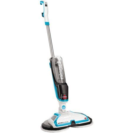 Bissell Spinwave Hard Floor Powered Mop And Clean And Polish 2039w Walmart Com Floor Cleaner Hard Floor Cleaning Tile Floors