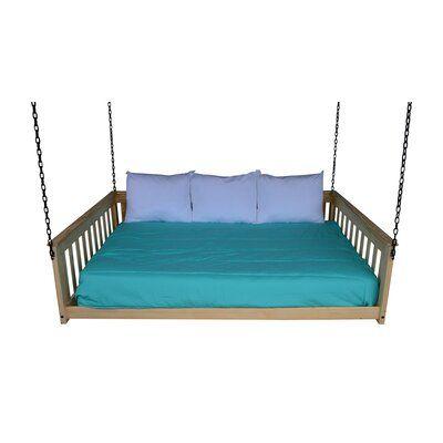 Ebern Designs Conestoga Porch Swing Frame Colour Unfinished In 2020 Porch Swing Porch Swing Frame Ebern Designs