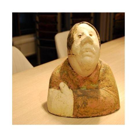 Borstbeeld vrouw keramiek Sjer Jabobs