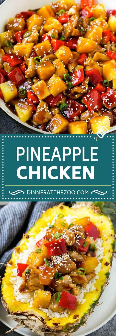 Pineapple Chicken   Hawaiian Chicken   Chicken Stir Fry