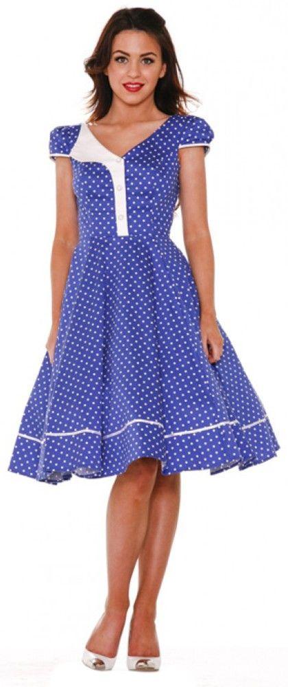 Cupcake Retro Pinup Day Dress 1950s Purple Fit /& Flare Dress 28