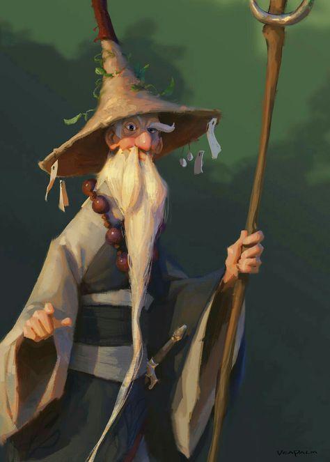 Cool Wizard Art