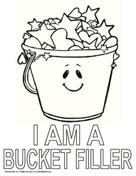 49++ Have you filled a bucket today coloring page info
