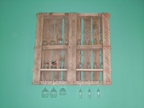 Copas y pallets    #Pallets, #Shelves