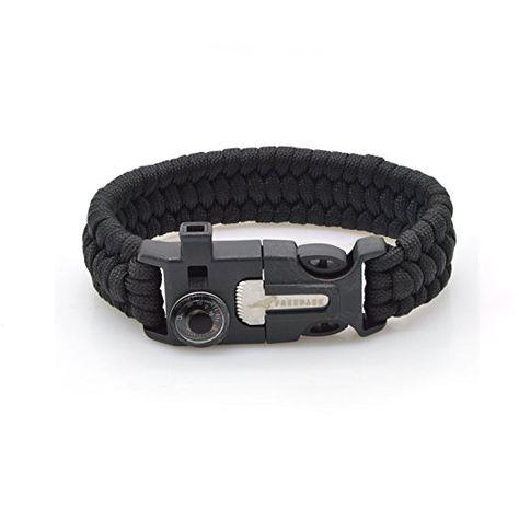 Amazon Com Vimall Tactical Outdoor Survival Paracord Bracelet