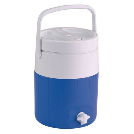 Coleman 2 Gallon Jug With Faucet Blue In 2020 Beverage Cooler Water Coolers Faucet