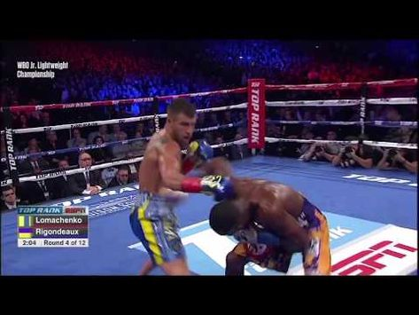 Vasyl Lomachenko Vs Guillermo Rigondeaux Highlights Hd Youtube With Images Professional Boxing Highlights Scholarships