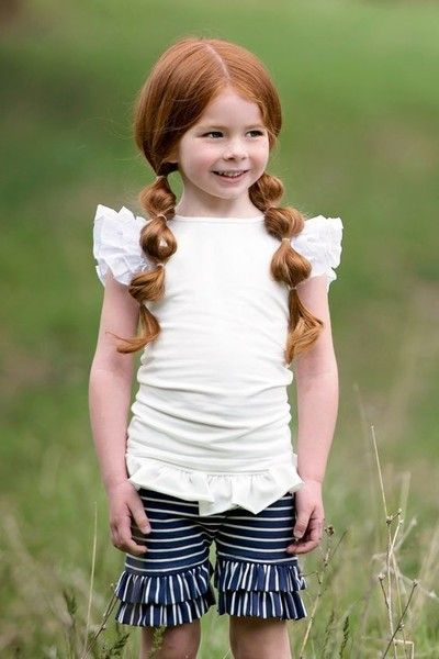 Dress up those pigtails - Cute Back-to-School Hairstyle Ideas for Girls - Photos