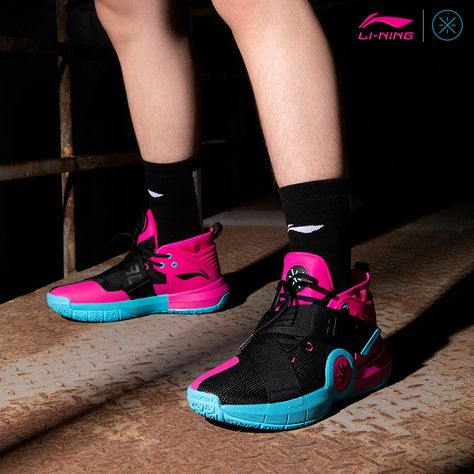 Wade All City 7 South Beach in 2020 Basketballsko  Basketball shoes