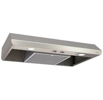 Broan Bksa130ss Stainless Steel 150 250 Cfm 30 Inch Wide Under Cabinet Range Hood With The Captur System Broan Range Hood Under Cabinet Range Hoods