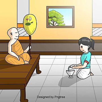 พระสงฆ น งสมาธ การทำสมาธ พระภ กษ พระและน กบวชภาพ Png และ เวกเตอร สำหร บการดาวน โหลดฟร Cartoon Clip Art Cartoon Icons Cartoon Heart
