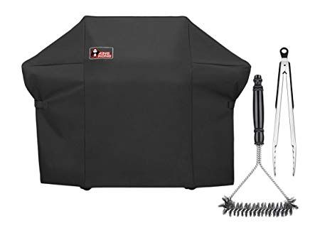 Kingkong 7108 Premium Grill Cover For Weber Summit 400 Series Gas Grills Compared To The Weber 7108 Grill Cover Incl Grill Cover Grill Brush Gas Grill Covers