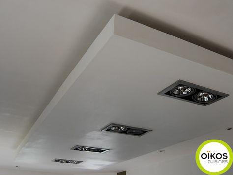 Plafonds De Cuisine Faux Plafond Avec Spots Alu Plafond Cuisine Plafond Faux Plafond Cuisine