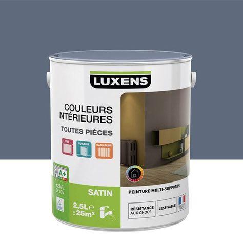 Peinture multisupports Couleurs intérieures satin LUXENS ...
