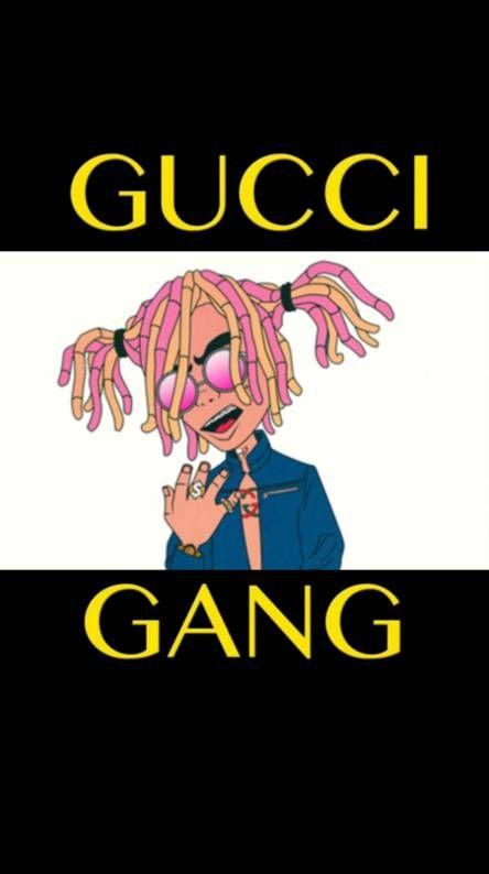 Gucci Gang Wallpaper : gucci, wallpaper, Gucci, Lilpump, Wallpaper, Iphone,, Gucci,