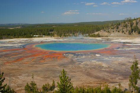 Parco Nazionale di Yellowstone - THE GRAND PRISMATIC