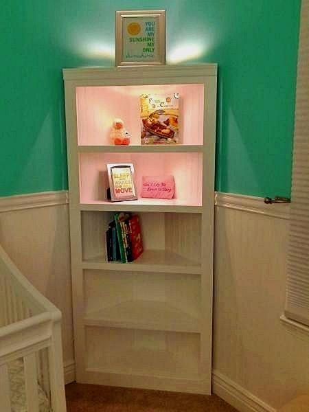 Bedroom Design And Decoration Tips And Ideas Nursery Shelves Diy Corner Shelf Home Diy