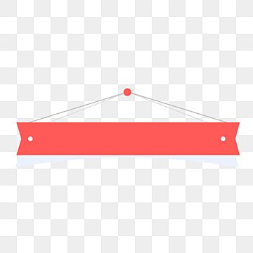 Red Banner Material Banner Banners Red Banners Png And Vector With Transparent Background For Free Download Banner Vector Background Banner Social Media Banner