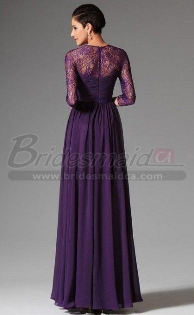 33 Ideas Wedding Dresses Bridesmaid Purple Vestidos Vestido De