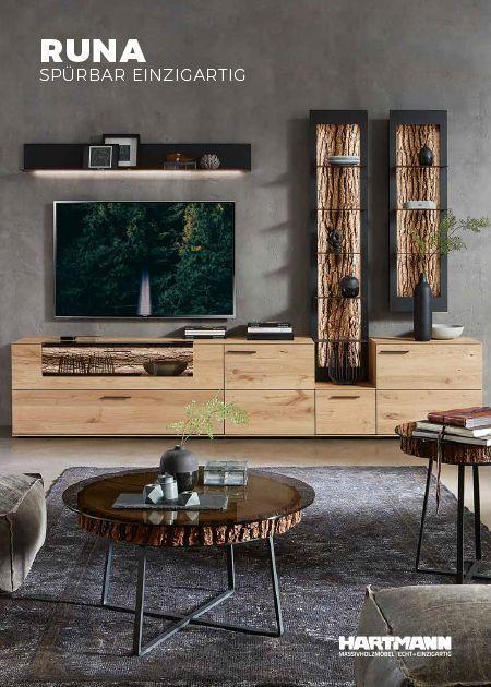 Runa Hartmann Mbelwerke Gmbh Solid Wood Furniture Made In Ger Runa Hartman Decoration Meuble Tv Decoration Salon Canape Gris Meuble Tv Mural Design
