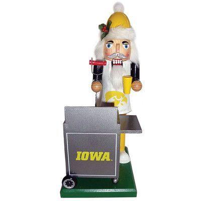 "12"" NCAA University of Iowa Hawkeyes Sports Tailgating Wood ..."