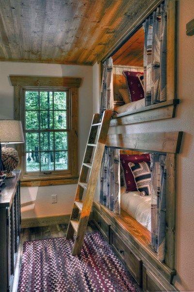 Top 70 Am Besten Etagenbett Ideen Platzsparend Schlafzimmer Designs Deutsch Style Bunk Beds Built In Cabin Bunk Beds Bunk Beds