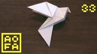 How to make an Origami Dove for Easter / Peace Day (by Alice Gray) ...for all (33), via YouTube.