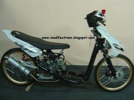 Gambar Modifikasi Yamaha Mio Sporty Drag Race Bike Mobil