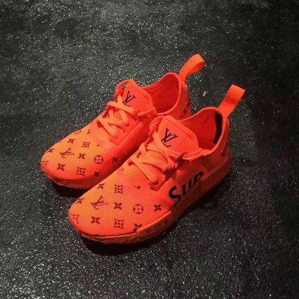 Posible suelo Cuando  2018 Genuine SneakersNBonsai Envisions a Supreme x Louis Vuitton adidas NMD  R1 Custom EUR 36-45 | Adidas nmd, Adidas nmd r1, Best sneakers