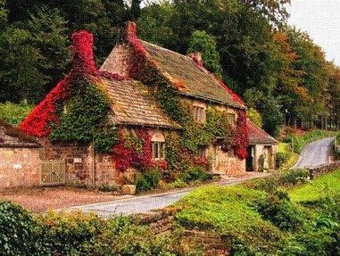 Cozy Cottage Ideas Best Of Old English Cottage In Autumn Colours L B Painting By Gert J Rheeders Cozy Cottage English Cottage English Cottage Garden