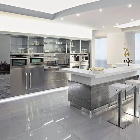 60 Moderne Kuchenideen Dekor Und Dekorationsideen Fur Die Kuchengestaltung Ra Diseno De Cocina De Lujo Decoracion De Cocina Moderna Diseno Muebles De Cocina