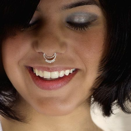List Of Pinterest Piercing Septum Small Rings Sterling Silver