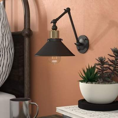 17 Stories Gilfillan 1 Light Swing Arm Lamp 17 Stories Sconces Lamp Wall Lamp