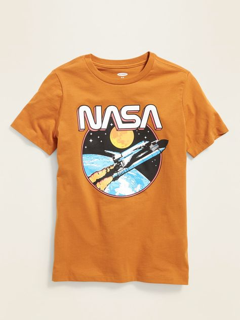NASA® Space Rocket Graphic Tee for Boys | Old Navy