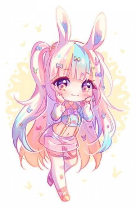 Pin By ѕna Ow On Gacha Life Base Eyes Hair Chibi Girl Drawings Chibi Anime Kawaii Cute Anime Chibi