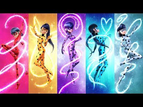 Miraculous Ladybug Season 2 Ultimate Powers Transformation - Miraculous Ladybug Speededit - YouTube