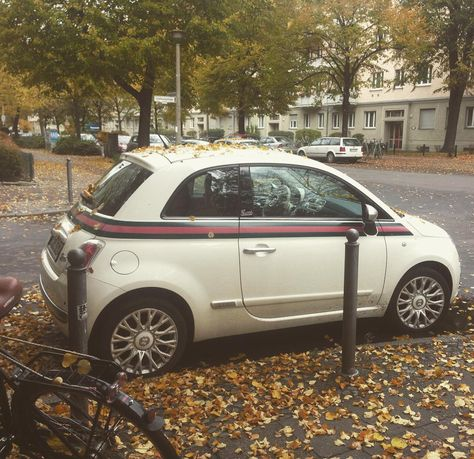 """e1a2273b519cd6 """"This is awesome Fiat 500 Gucci Car Limited Edition  berlincity  fiat500…"""