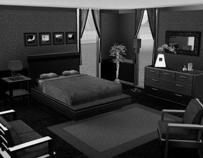 All Black Bedroom Sets in 2019 | Black bedroom sets, Black ...