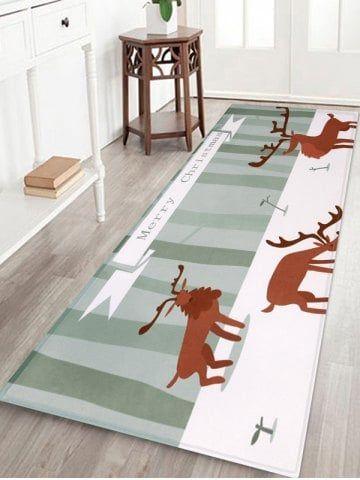 Christmas Deer Pattern Decorative Bath