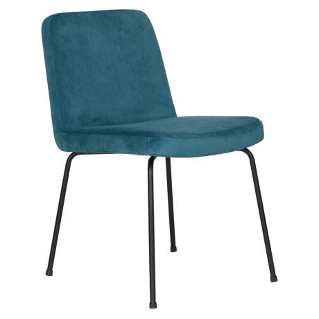 Darby Dining Chair Velvet Blue 2 129 Clearance Dining Chairs