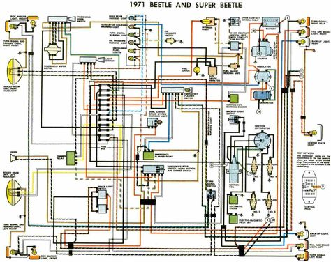 70a77cea80ed389fc28e4bd56fae267b electrical wiring diagram beetle convertible vw bug ignition wiring diagram 73 vw wiring diagram free 73 beetle wiring diagram at gsmx.co