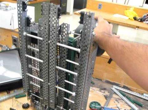 Nanakuli VEX Robotics Elevator Lift - YouTube   Robotics