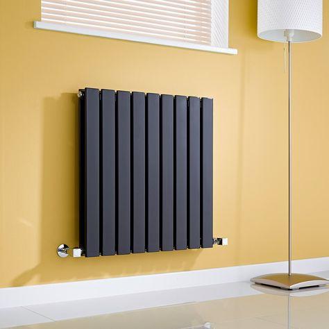 online store c0790 f4755 Milano Alpha - Black Horizontal Double Slim Panel Designer ...