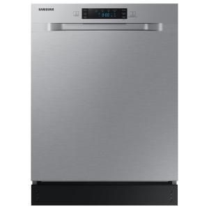 Frigidaire 24 In Stainless Steel Front Control Tall Tub Dishwasher With Stainless Steel Tub 52 Dba Ffbd2420us The Home Depot Steel Tub Built In Dishwasher Tub