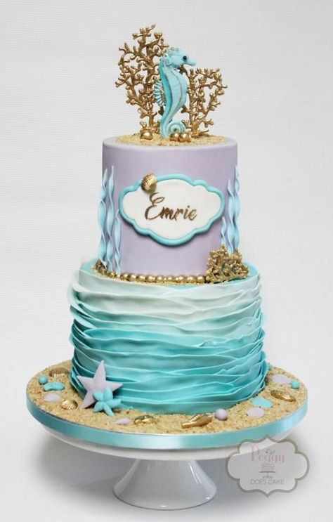 Seahorse by Peggy Does Cake We are want to say thanks if you like to share this post to another people via your facebook, pinterest, google plus or twitter account. Right Click to save picture or tap and hold for seven second if you are using iphone or ipad. Source by : cakesdecor.com