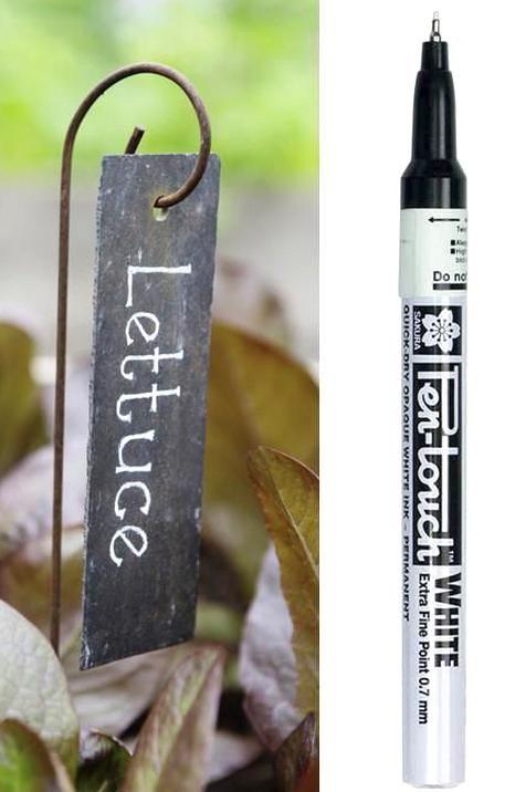 Garden Plant Markers Labels, Slate Garden Markers